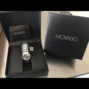 Women's movado Swiss collection created for Macy's